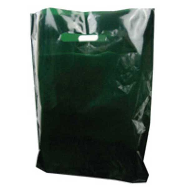 Polythene Bag in Dark Green