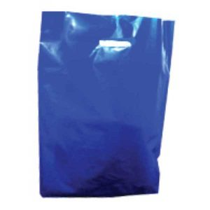 Polythene Bag in Navy Blue