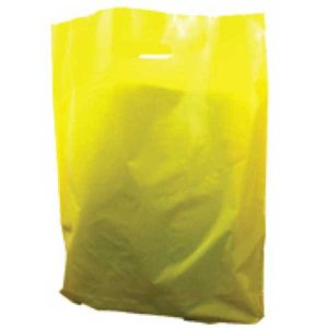 Polythene Bag in Yellow